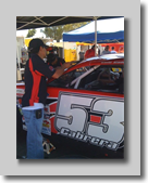 Mike Munoz, Crew Chief for Cole Cabrera Racing
