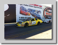 Cole Cabrera K&N Pro Series Car at Irwindale